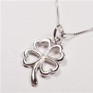 Jewelry - STERLING SILVER LUCKY SHAMROCK PENDANT NECKLACE